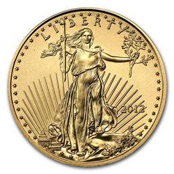 2012 1/10 oz Gold American Eagle BU