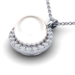 4 ctw Sapphire & VS/SI Diamond Cluster Ring  10K Yellow Gold