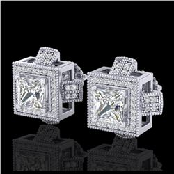 6.08 ctw Morganite & Diamond Ring 14K Yellow Gold