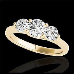5.33 ctw Emerald Diamond Earrings 18K Rose Gold