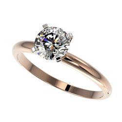 10.36 ctw Garnet & VS/SI Diamond Tennis Earrings 10K Rose Gold