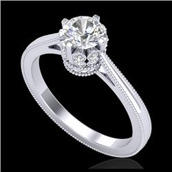 1.75 ctw Intense Fancy Yellow Diamond Art Deco Necklace 18K Rose Gold