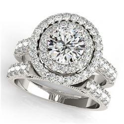 5.75 ctw Red Sapphire & Diamond Ring 14K Yellow Gold