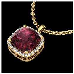 1 ctw VS/SI Diamond Cross Necklace 18K White Gold