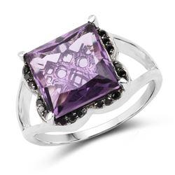 2.25 ctw Emerald & VS/SI Diamond Ring 10K White Gold