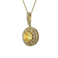 1.75 ctw VS/SI Princess Diamond 2pc Set Halo 14K Yellow Gold