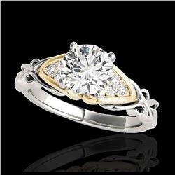 15.95 ctw Citrine & Diamond Bracelet 14K White Gold