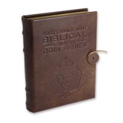 Leather 6-Coin Collector's Album - 2019 Biblical Series