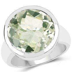 2.10 ctw Genuine Amethyst .925 Sterling Silver Ring