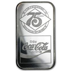 1 oz Silver Bar - Coca Cola (Norfolk\, VA)