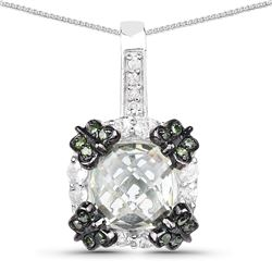 3 ctw Sky Blue Topaz & VS/SI Diamond Cluster Ring 10K Rose Gold