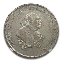 1792-S Germany/Brandenburg-Ansbach-Bayreuth Gulden XF-40 NGC