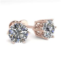 46.39 ctw Fancy Citrine & Diamond Halo Necklace 10K Rose Gold
