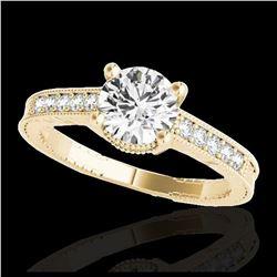 2.75 ctw Ruby & VS/SI Diamond Necklace 18K Yellow Gold