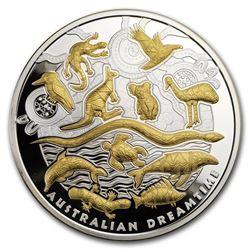 2019 Niue 5 oz Silver Australian Dreamtime