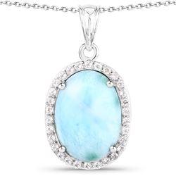 2.75 ctw Emerald & VS/SI Diamond Necklace 18K White Gold