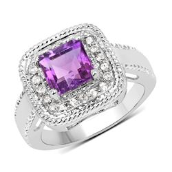 0.70 ctw VS/SI Diamond Ring 14K Rose Gold