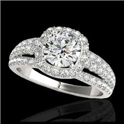 2.03 ctw H-SI/I Diamond Necklace 10K Yellow Gold