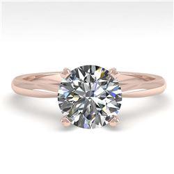 5.12 ctw Ruby & Diamond Ring 14K Yellow Gold