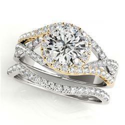 4.97 ctw Tourmaline & Diamond Necklace 14K Rose Gold