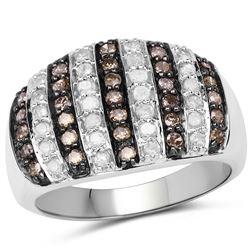 3.50 ctw Topaz & VS/SI Diamond Necklace 14K Rose Gold