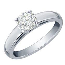 1.37 ctw VS/SI Diamond Bypass 2pc Wedding Set 14K White Gold