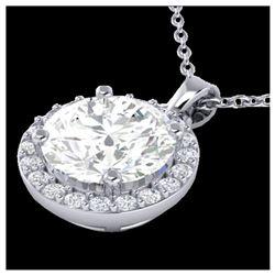 5 ctw H-SI/I Diamond Stud Earrings 10K Rose Gold