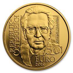 2019 Austria Gold Prf 50 School of Psychotherapy (Viktor Frankl)