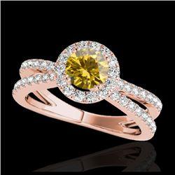 20.35 ctw Diamond Necklace 18K Yellow Gold