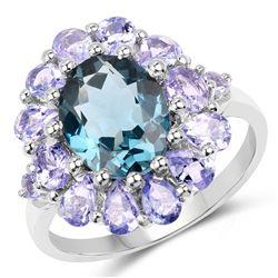 3 ctw Citrine & VS/SI Diamond Halo Solitaire Ring 18K Yellow Gold