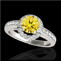 2 ctw H-SI/I Diamond Ring 10K Yellow Gold