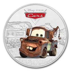 2017 Niue 1 oz Silver $2 Disney Pixar Cars: Tow Mater