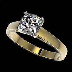 4 ctw Citrine & VS/SI Diamond Ring 18K Yellow Gold