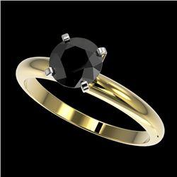 0.25 ctw VS/SI Diamond & Peacock Pearl Ring 14K Rose Gold