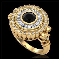 2 ctw VS/SI Princess Diamond Stud Earrings 10K Yellow Gold
