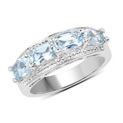 0.50 ctw Intense Blue Diamond Necklace 10K Rose Gold