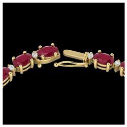 2.5 ctw Fancy Intense Blue Diamond Art Deco Earrings 18K Rose Gold