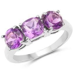 0.75 ctw VS/SI Diamond 3 Stone Ring 14K White Gold