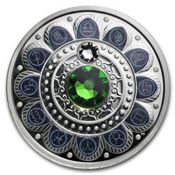 2017 Canada 1/4 oz Silver $3 Zodiac Series (Libra)