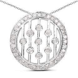 3.01 ctw Genuine Tanzanite and White Diamond .925 Sterling Silver Ring