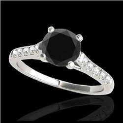 0.50 ctw VS/SI Oval Diamond Necklace 10K Rose Gold