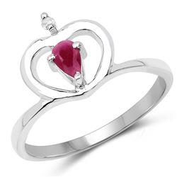 0.65 ctw VS/SI Diamond Halo Ring 14K White Gold