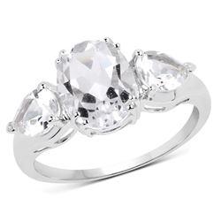 0.34 ctw Genuine White Diamond .925 Sterling Silver Pendant