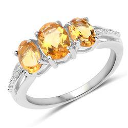 0.40 ctw VS/SI Diamond Ring 14K White Gold