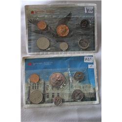 Canada Coins Sets (2)