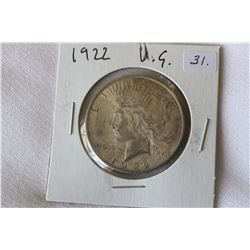USA Dollar Coin 'Peace' (1)