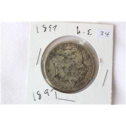 USA Dollar Coin 'Morgan' (1)