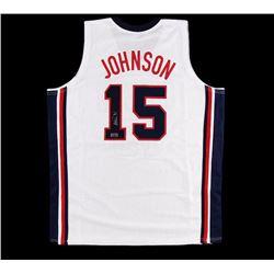 Magic Johnson Signed Dream Team Custom Jersey - Radtke COA