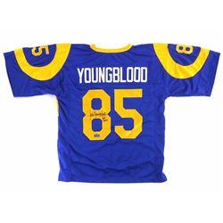 Jack Youngblood Signed Custom Jersey with Inscription - Radtke COA