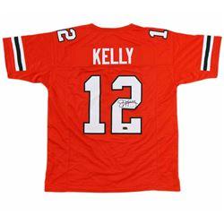 Jim Kelly Signed Custom Jersey - Radtke COA
